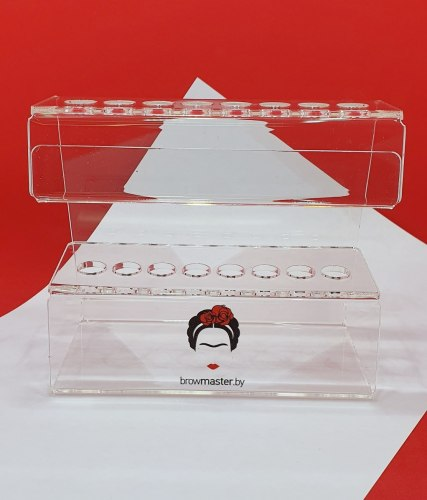 Вертикальная подставка для 8 кистей Browmaster.by