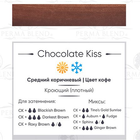 Пигмент для татуажа бровей Perma Blend оттенок Chocolate Kiss