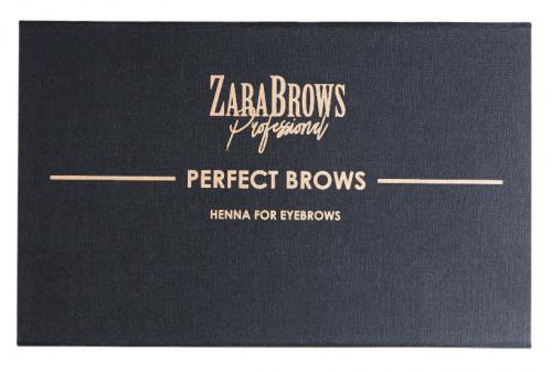 Профессиональный набор для оформления бровей Zara Brows Perfect Brows
