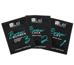 Набор составов для ламинирования бровей In Lei BROW / (LIFT 1+LOCK 2+BOMBER 3) Inlei Для домашнего использования