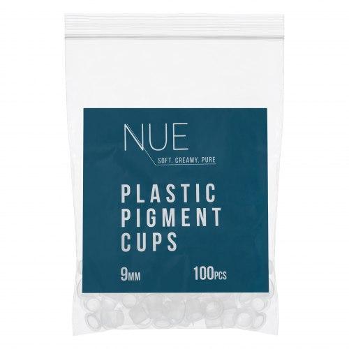 Капсы для пигмента пластиковые 9мм NUE 100 шт
