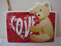 """Валентинка """"Love №5"""", 8 см"""