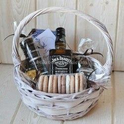 """Набор подарочный мужской """"Виски и макаруны"""""""