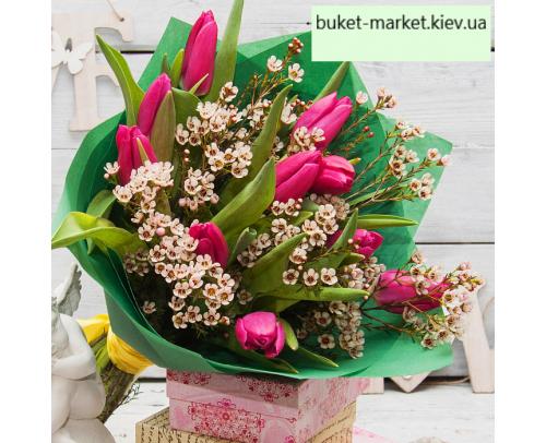 """Букет из тюльпанов """"Прованс"""""""