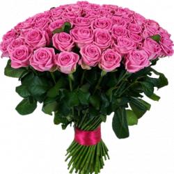 Букет роз Аква 101 шт, 80 см