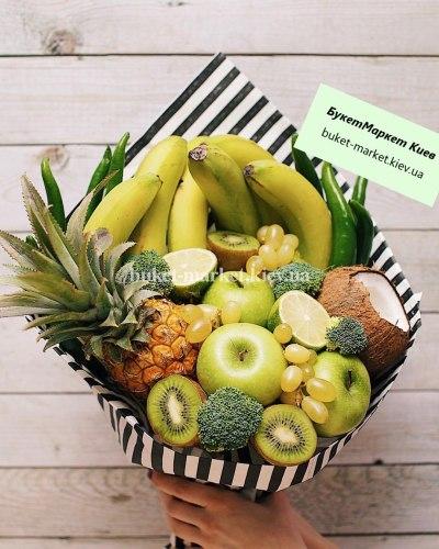 """Букет фруктов """"Зеленые тропики"""""""