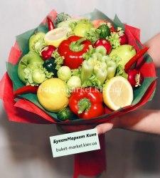 """Букет из овощей """"Витаминный витамин"""""""