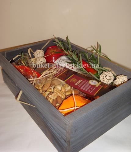 Подарочный набор для мужчин (ящик без крышки) №26