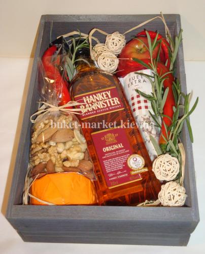 Подарочный набор для мужчин в коробке (ящик без крышки) №26