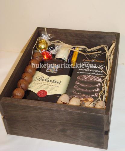 Набор мужской с виски (ящик без крышки) №29