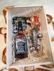Набор подарочный мужской (ящик с крышкой) №205