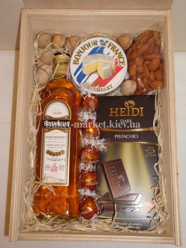 Подарочный набор для мужчины (пенал с крышкой) №211
