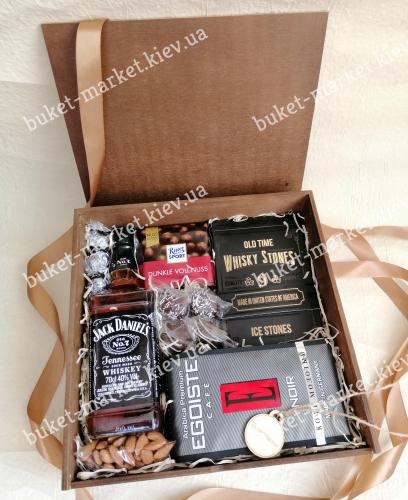 Подарочный набор для мужчин (пенал с крышкой) №215