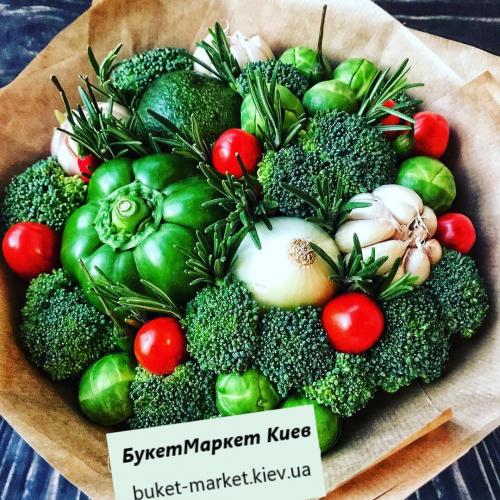 """Букет из овощей """"Мистер Грин"""" №308"""