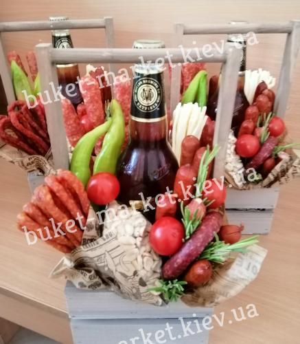 """Пивной набор подарок """"Гусарский"""" №374"""