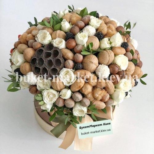 Букет из орехов для мужчины №381