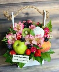 Букет из фруктов и ягод №401