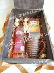 Набор для мужчины с виски (пенал с крышкой) №228
