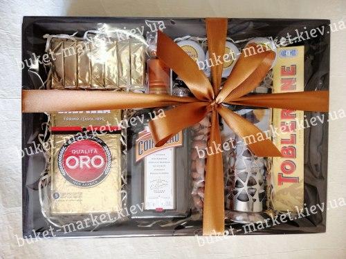 Коробка подарок женщине (ящик без крышки) №232