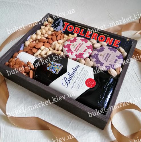 Подарок бокс парню (ящик без крышки) №234