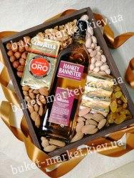 Подарочная коробка с орехами (ящик без крышки) №242