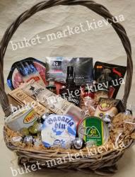 Подарочная корзина с деликатесными продуктами №404