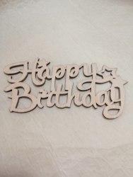 """Топпер-надпись """"С Днем рождения"""" на английском"""