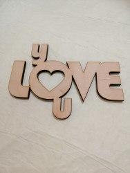 "Слово в коробку ""I love you"""