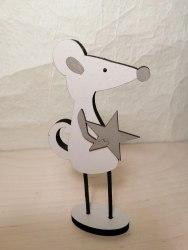 Статуэтка Мышка со звездой
