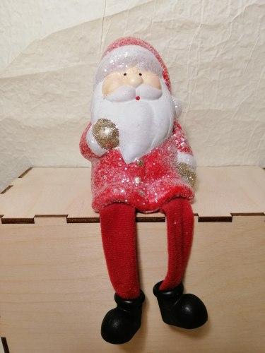 Статуэтка Дед Мороз красный