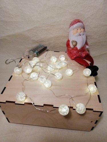Гирлянда LED битое стекло