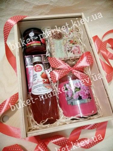 Подарочный набор для женщин с чаем №459