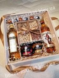 Подарочный набор для мужчин с орехами №463