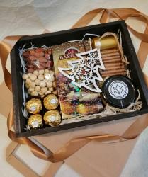 Подарочная коробка на новый год №464