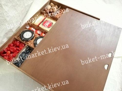 """Большой подарочный набор на Новый год с медом и орехами """"Восточный""""№225"""