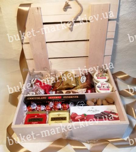 """Большой подарочный набор """"Вкусные сокровища"""" №499"""