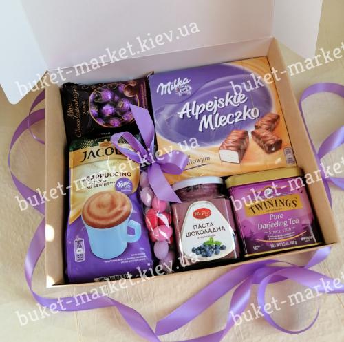 Женский подарок с конфетами №504