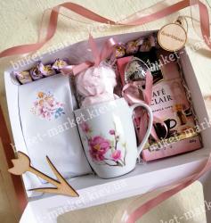 Женский подарок с чаем и кофе №509