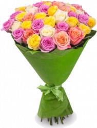 Зарина (розы: 45 шт./70 см.)