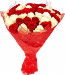 Моей милой (розы: 51шт./60см.)