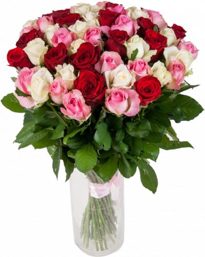 Таисия №2 (розы: 51 шт./70 см.)
