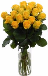 Букет из желтых роз (19 шт./60 см.)