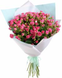 Букет из 19 розовых роз Лавли Лидия (19 шт./60 см.)