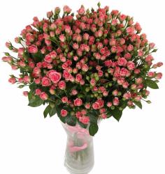 Букет из розы роз спрей Грация (29 шт./70 см.)