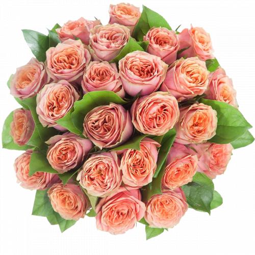 Букет из розы сорта Wild Look (25 шт./50 см.)