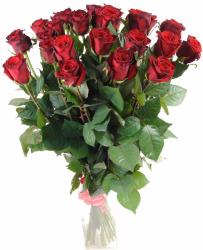 Букет из красных роз Гран При 25 шт, 70 см