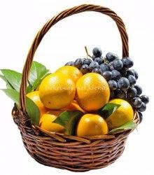 """Подарочная корзина с мандаринами """"Витаминная"""""""