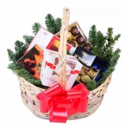 "Новогодняя корзина ""От Деда Мороза"""