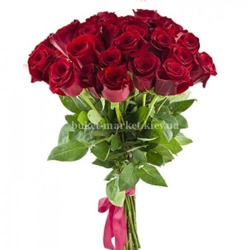 25 роза Фридом 90-100 см