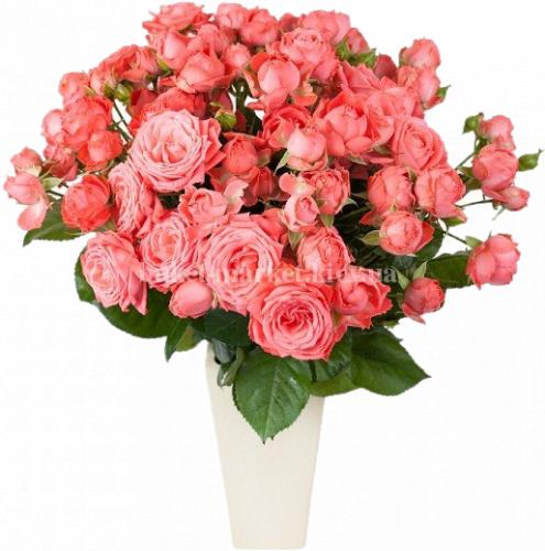 Букет из 19 роз Барбадос 70-80 см